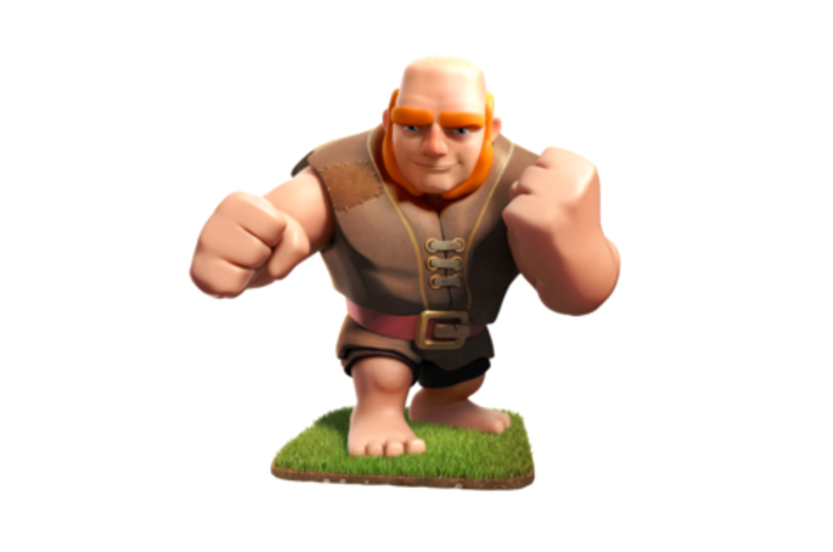 coc all troops hd images