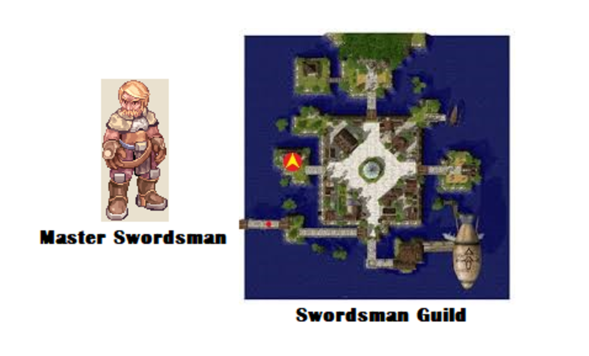 Seek out the Master Swordsman in the Swordsman Guild.