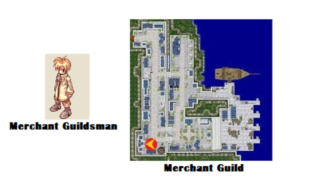 Bring your Voucher back to the Merchant Guildsman.