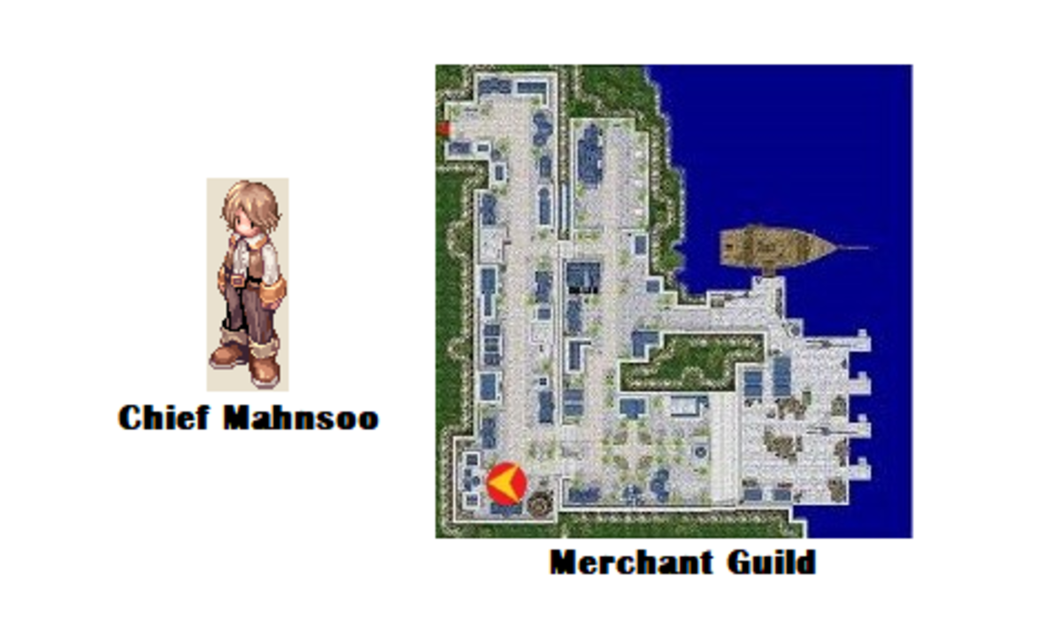 Based on your good work with the delivery task, Chief Mahnsoo will admit you to the guild!