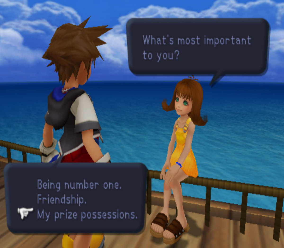 """""""Kingdom Hearts"""" Questions"""