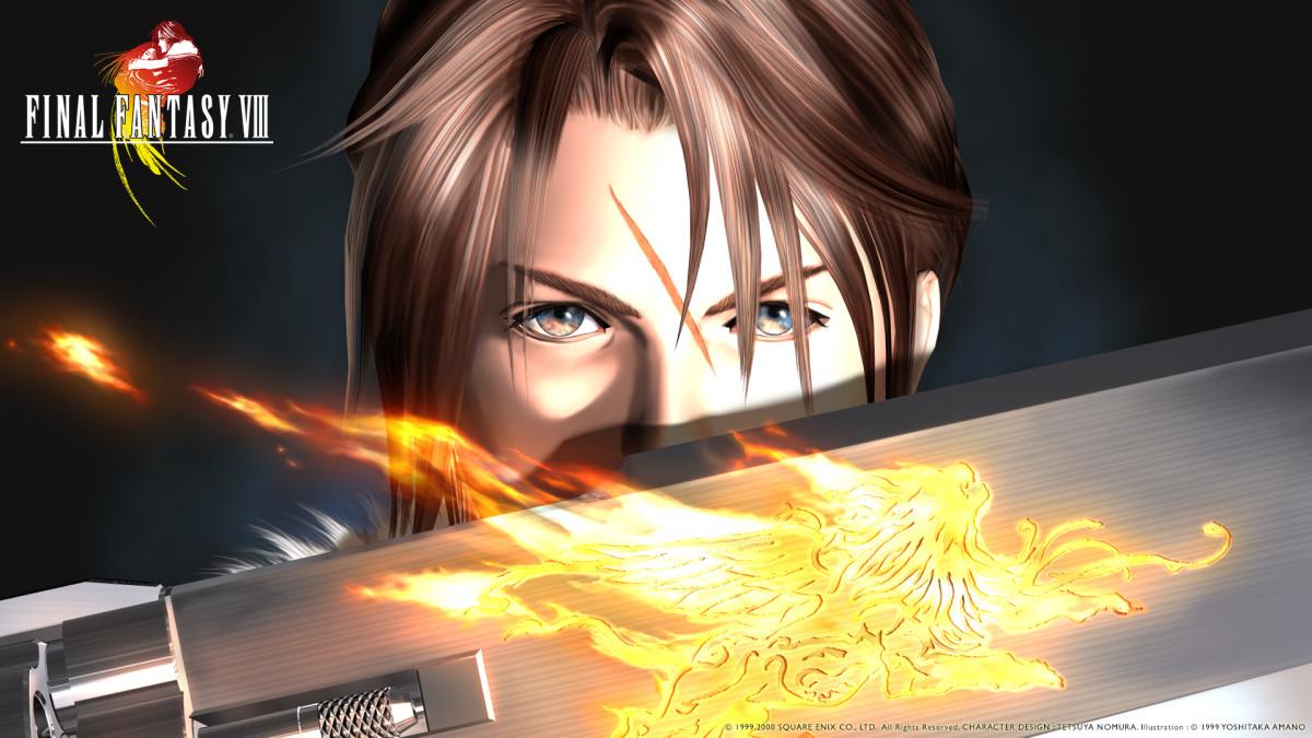 """""""Final Fantasy 8"""" Wallpaper"""