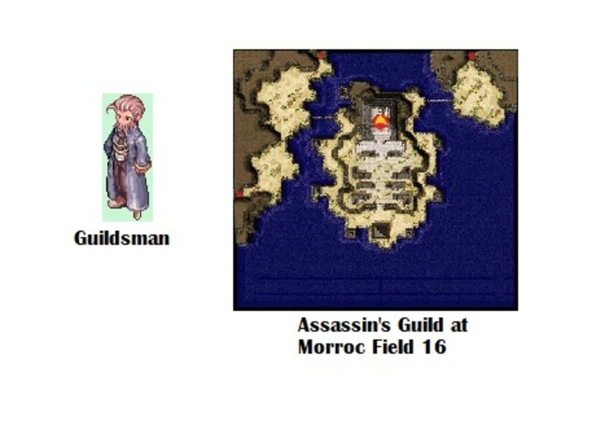 The Guildsman in the Assassin's Guild will help you begin your quest.