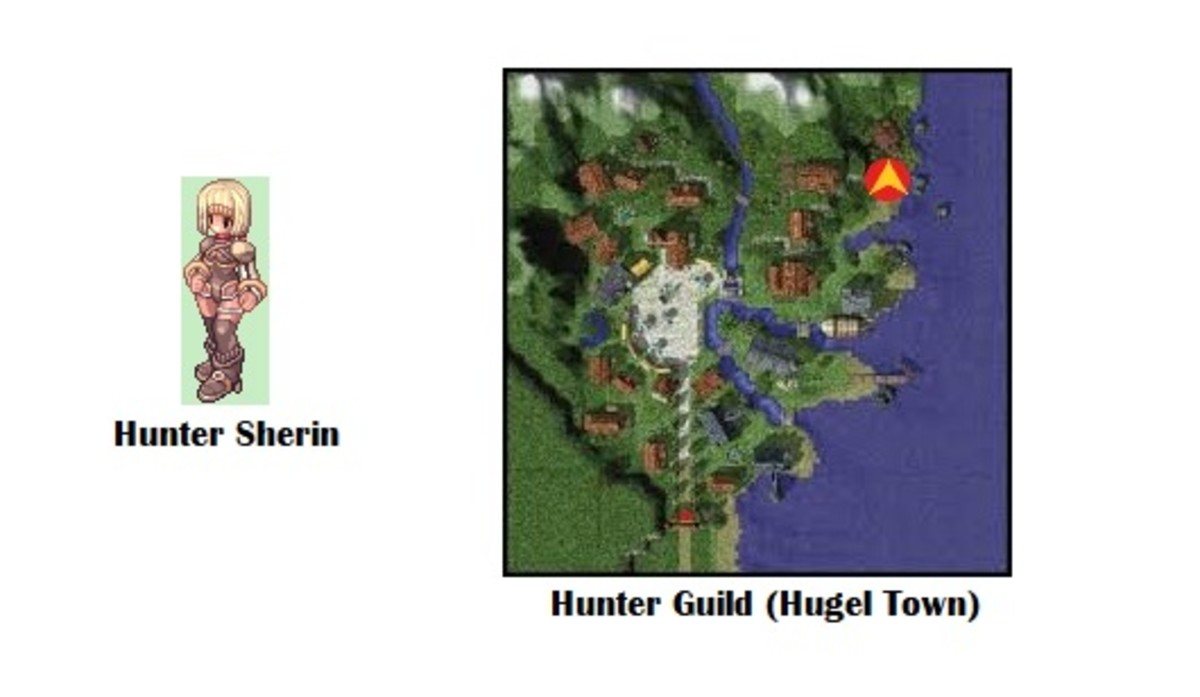Your quest begins with Hunter Sherin.