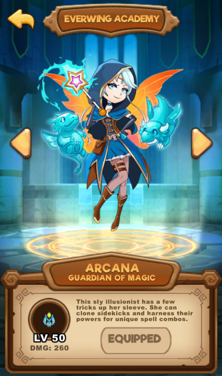 Information about Arcana.