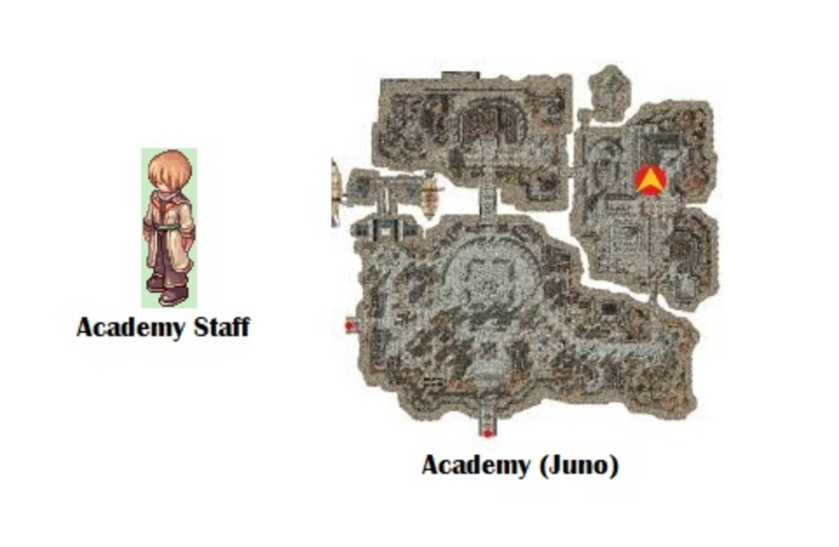 You'll begin the quest by talking to the Academy Staff.