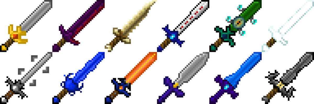 Retro Swords