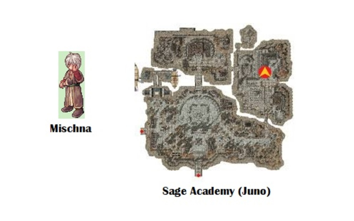 The elemental change quest also starts with Mischna.