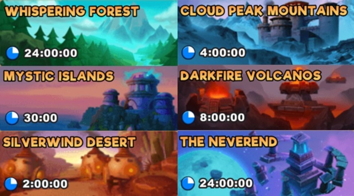 """Quests in """"EverWing"""" are time-based."""