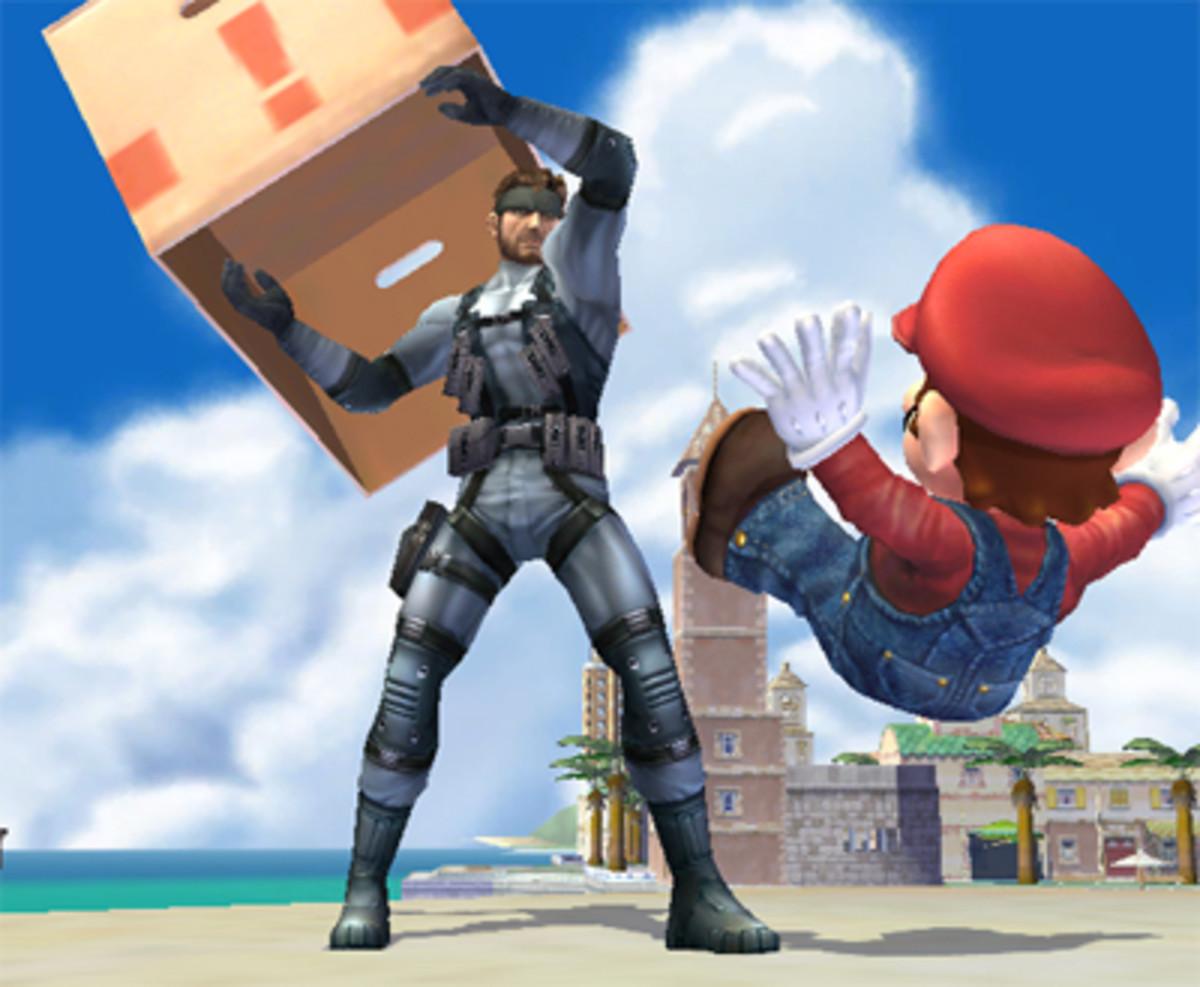 Snake and Mario