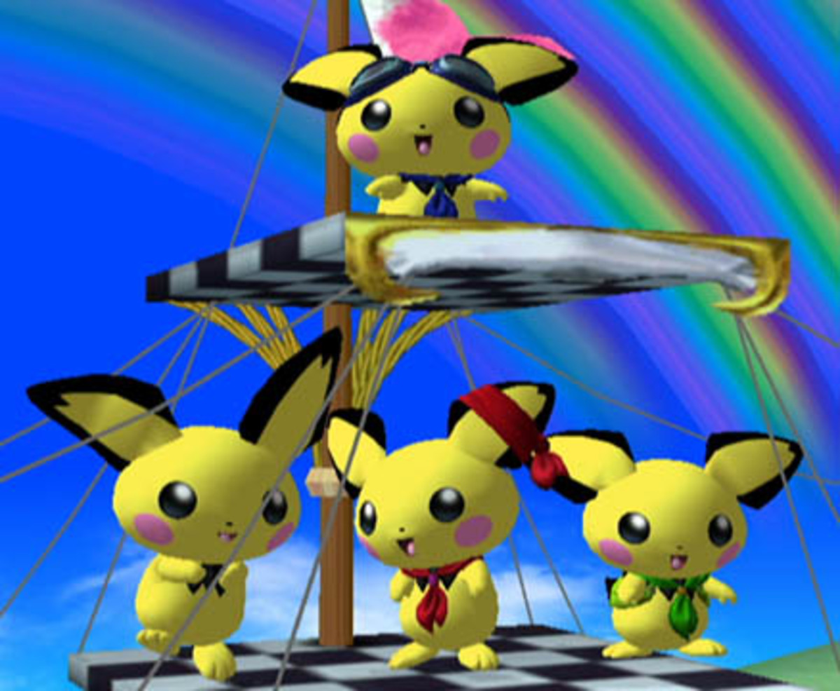 Pichu's Color Variations