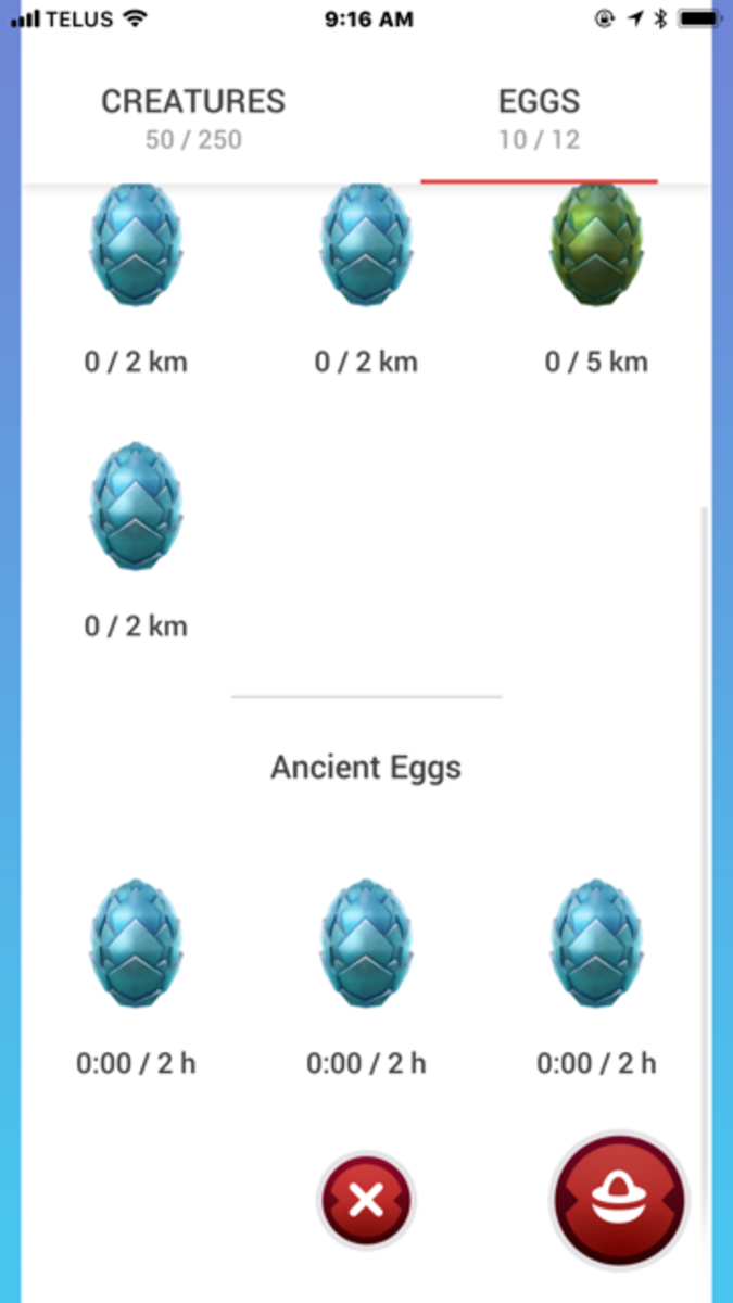 None of these eggs viewed here are with a Mother of Dragons.