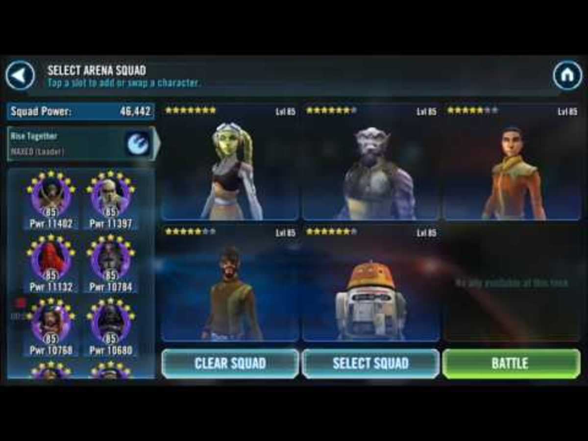 SWGOH Star Wars Galaxy of Heroes Artist of War Event Tips
