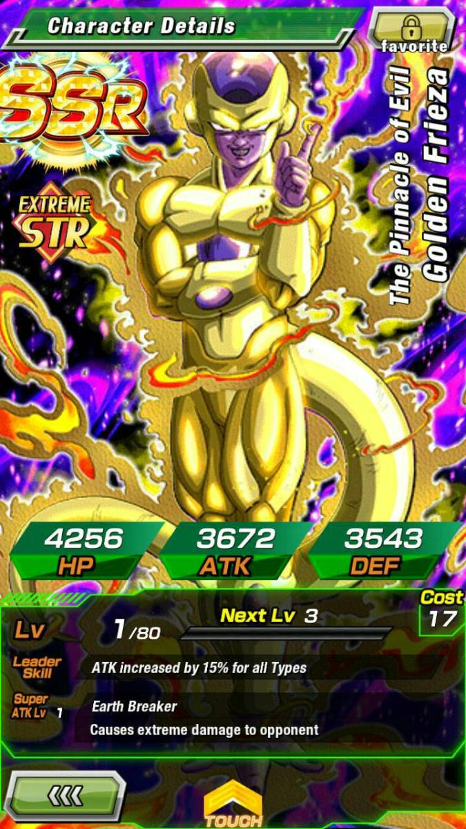 Golden Frieza still gives me the creeps.