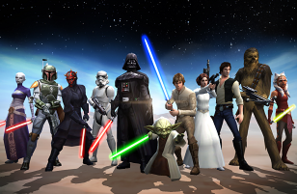 """Star Wars Galaxy of Heroes"" mobile app"