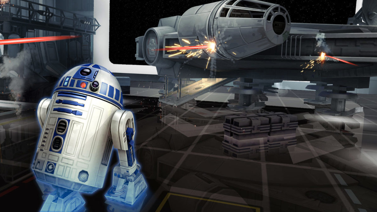 "R2-D2 in ""Star Wars Galaxy of Heroes"" mobile app"