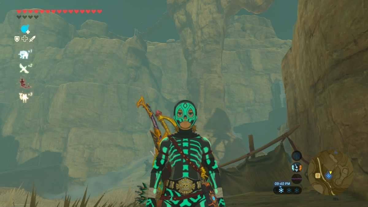 How to Get the Radiant Armor Set (Skeleton Armor) in The Legend of Zelda: Breath of the Wild