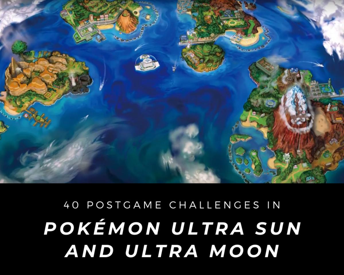 """Pokémon Ultra Sun and Ultra Moon"" Postgame Walkthrough"