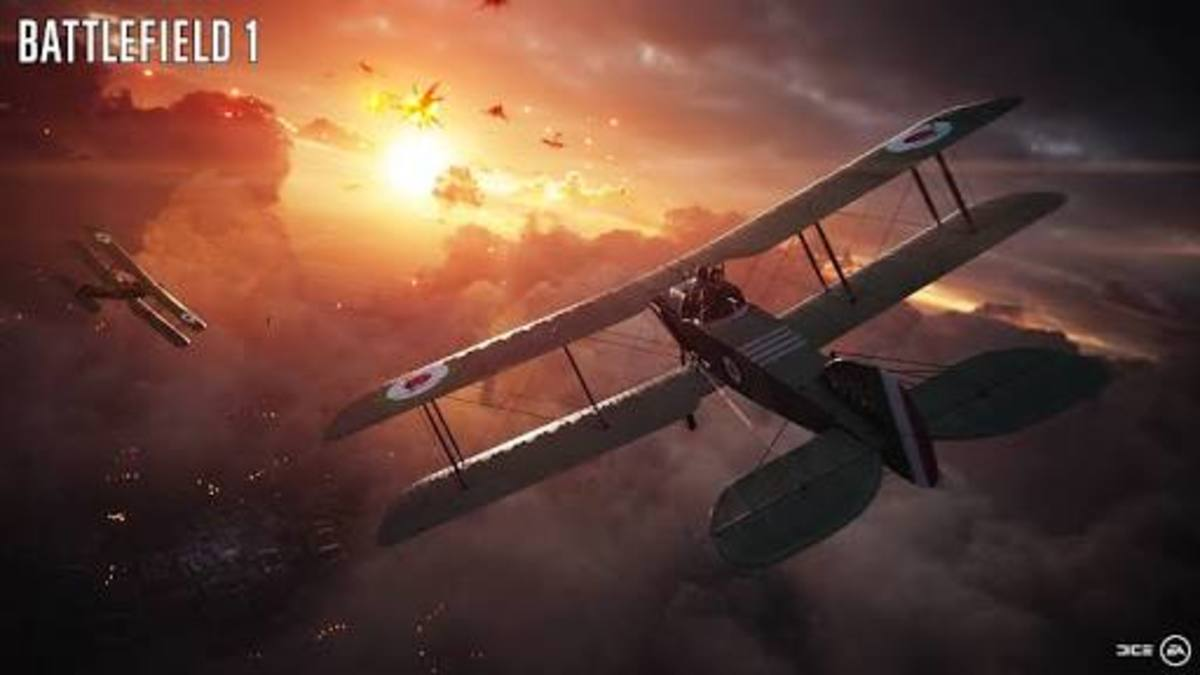 Battlefield 1 Multiplayer: Airplanes Guide