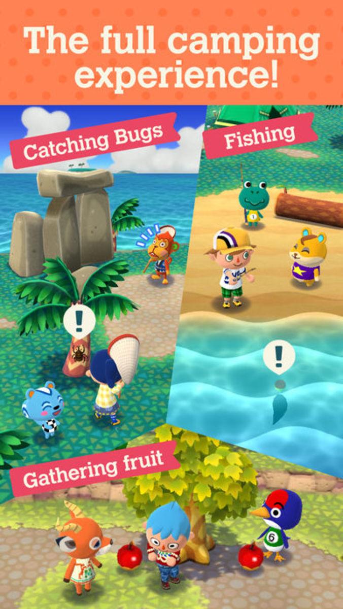 """Animal Crossing: Pocket Camp"""