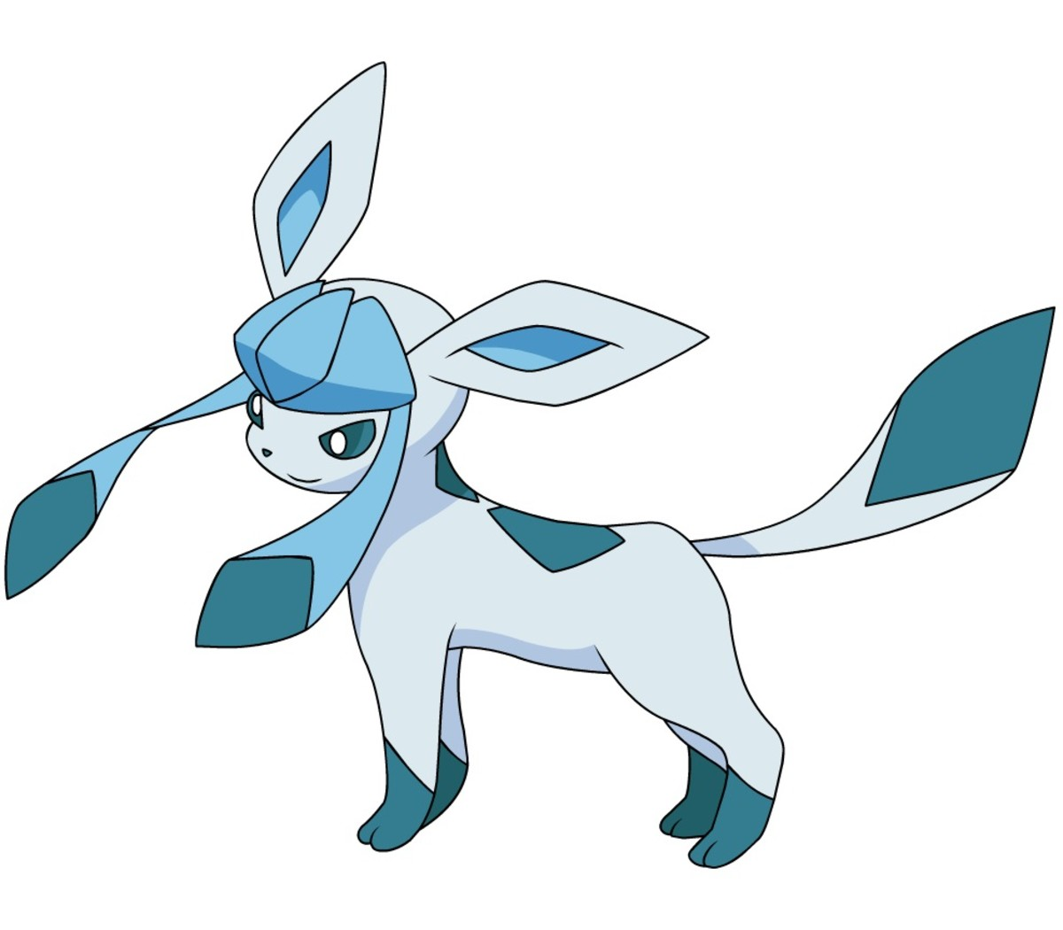 Glaceon is an Ice-type Eeveelution!