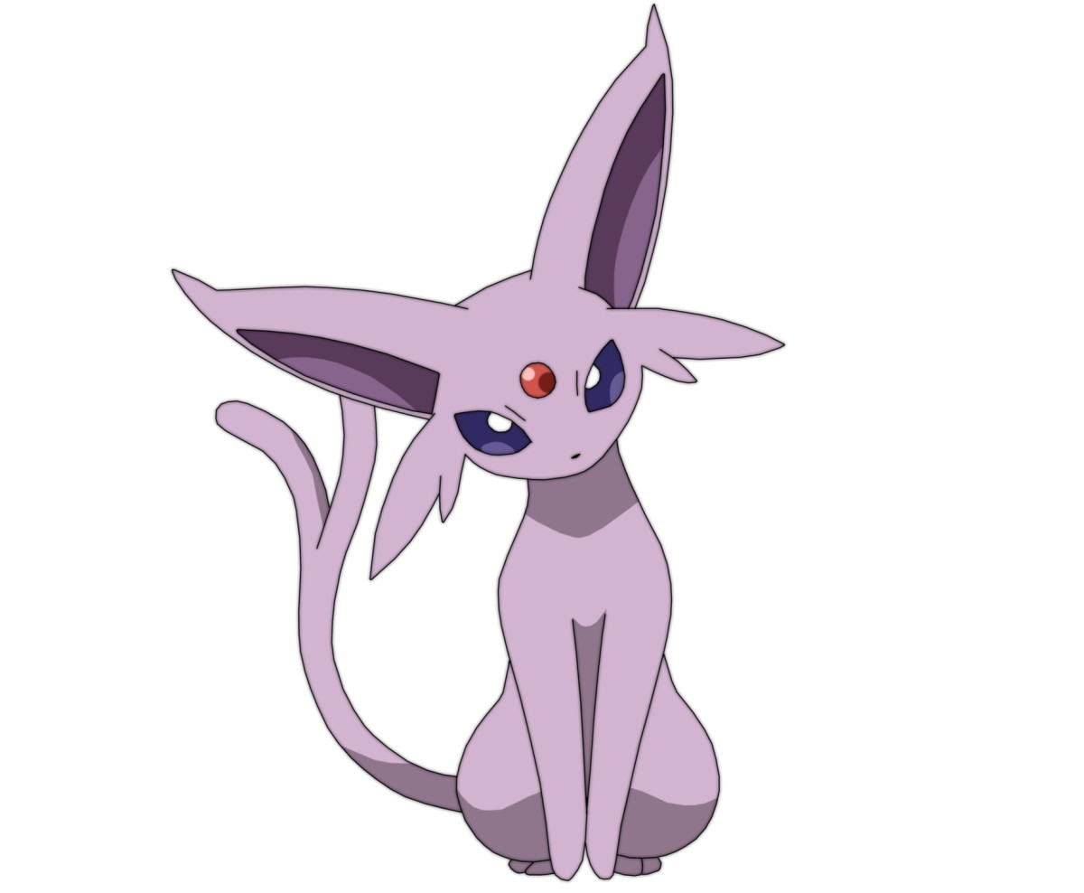 Espeon is a psychic-type eeveelution that is strongly associated with the sun!