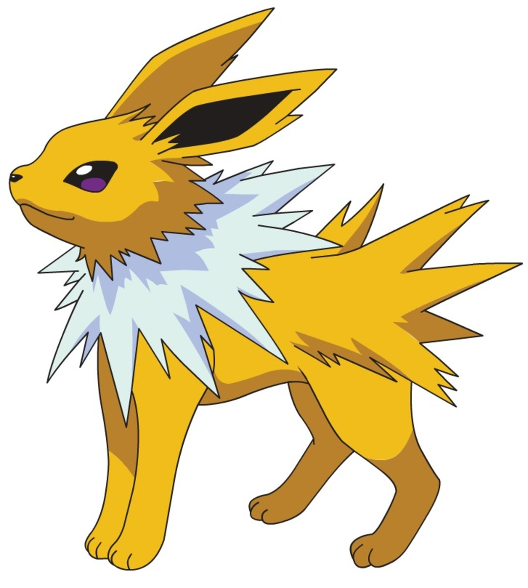 Jolteon is an electric-type eeveelution.