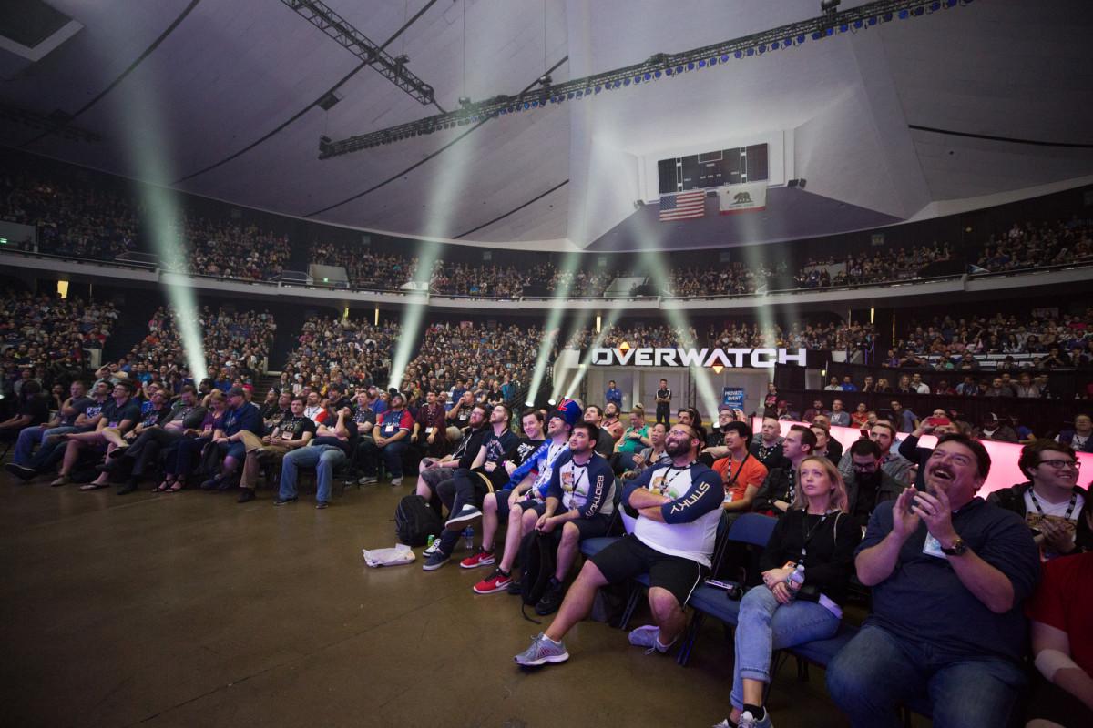 The Blizzard Arena LA.