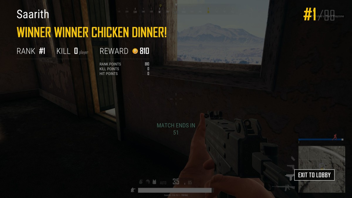 My best game ever. Won without firing a single shot.
