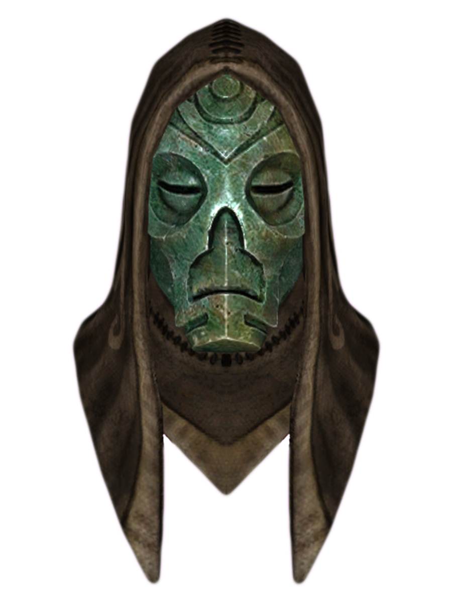Hooded Rahgot Dragon Mask