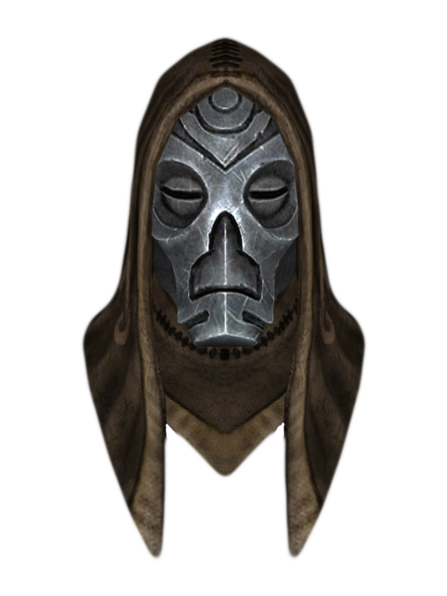 Hooded Vokun Dragon Mask