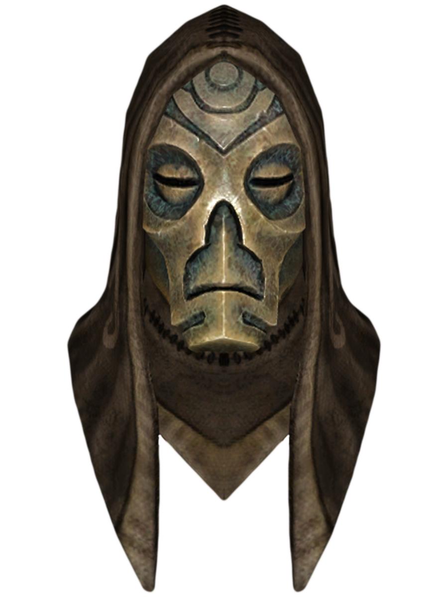 Hooded Krosis Dragon Mask