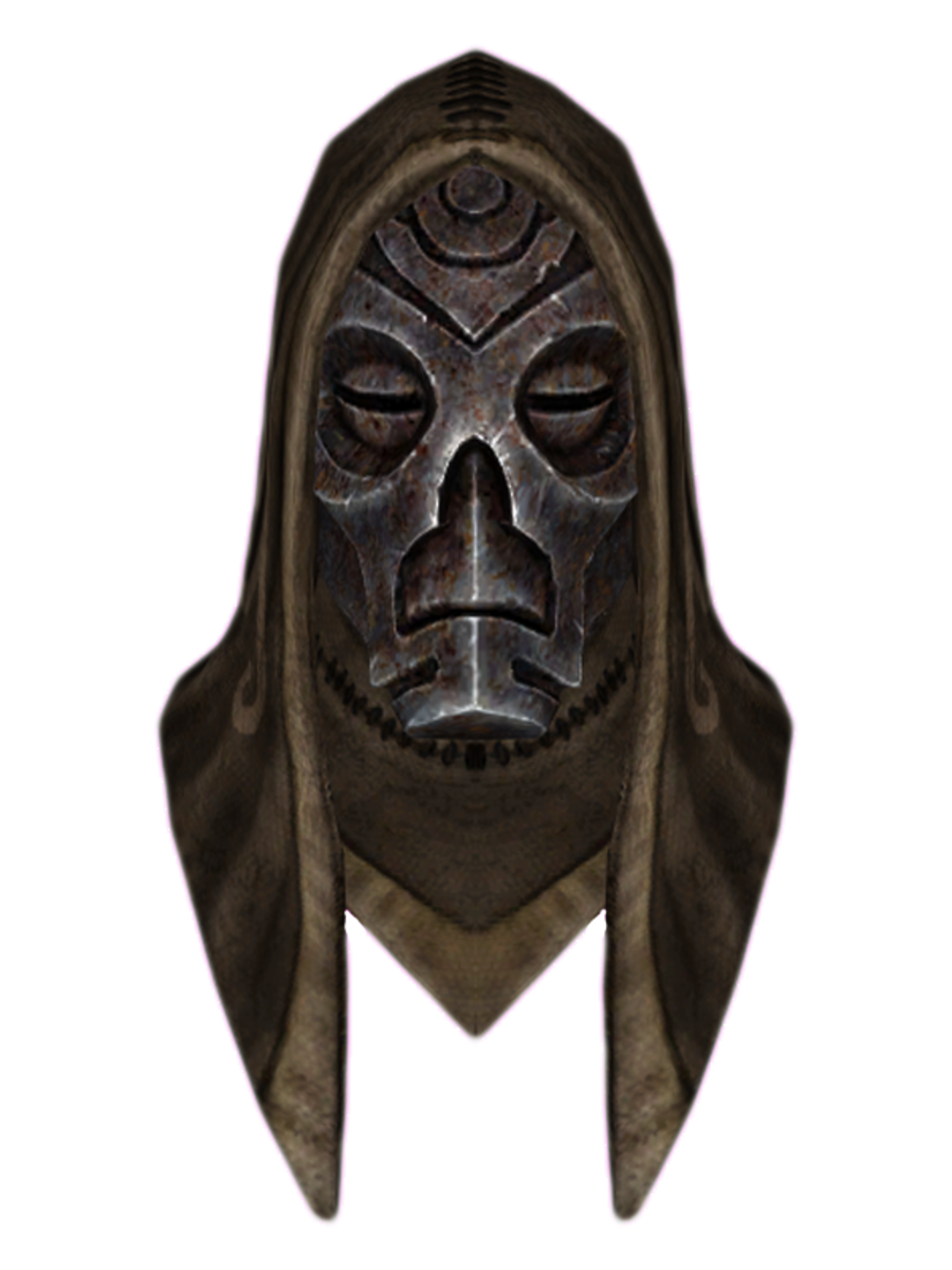 Hooded Hevnoraak Dragon Mask