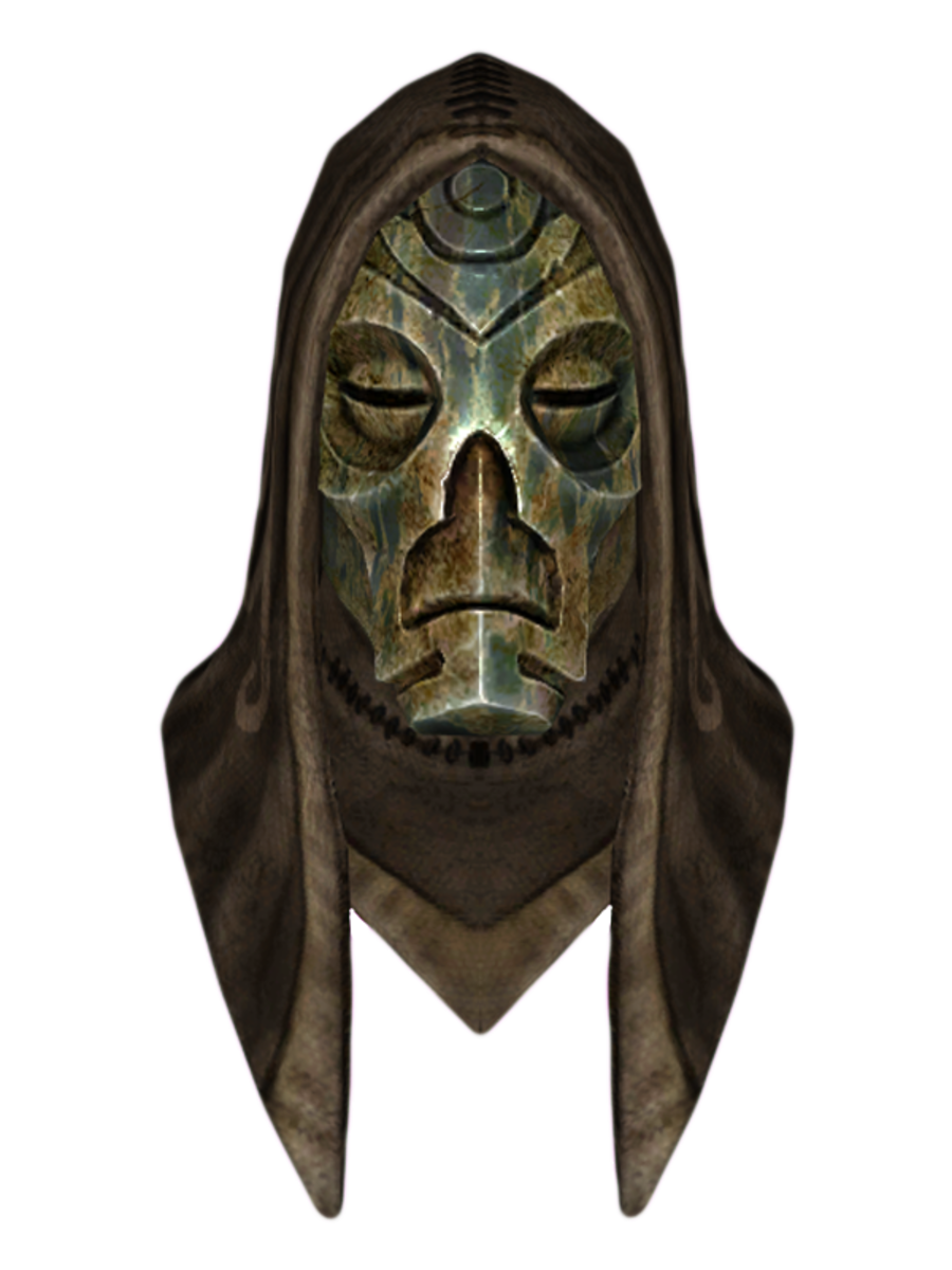 Hooded Otar Dragon Mask