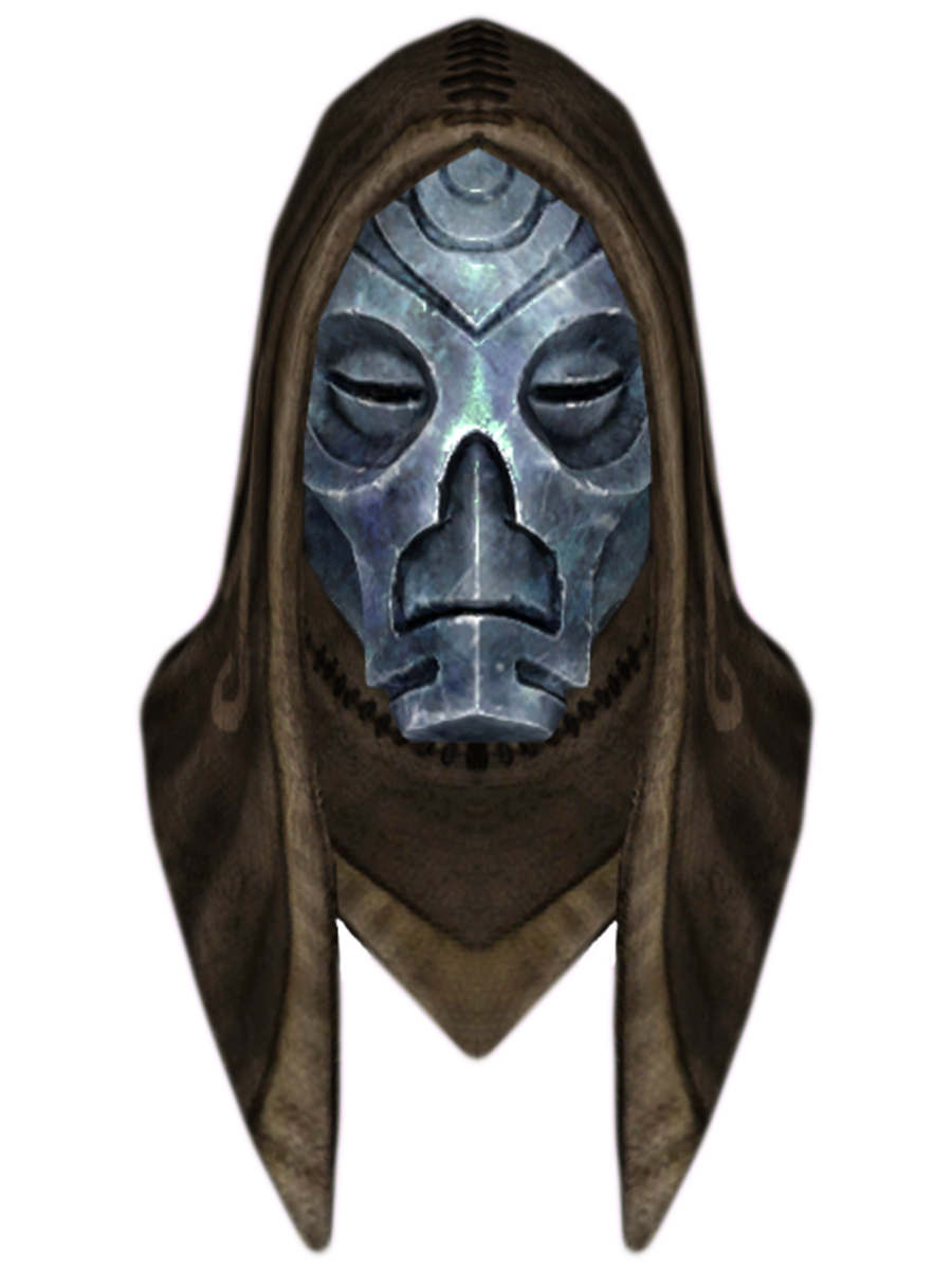 Hooded Morokei Dragon Mask