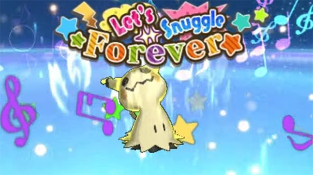 Mimikyu Using the Mimikium Z-Crystal to Attack With Let's Snuggle Foreveer