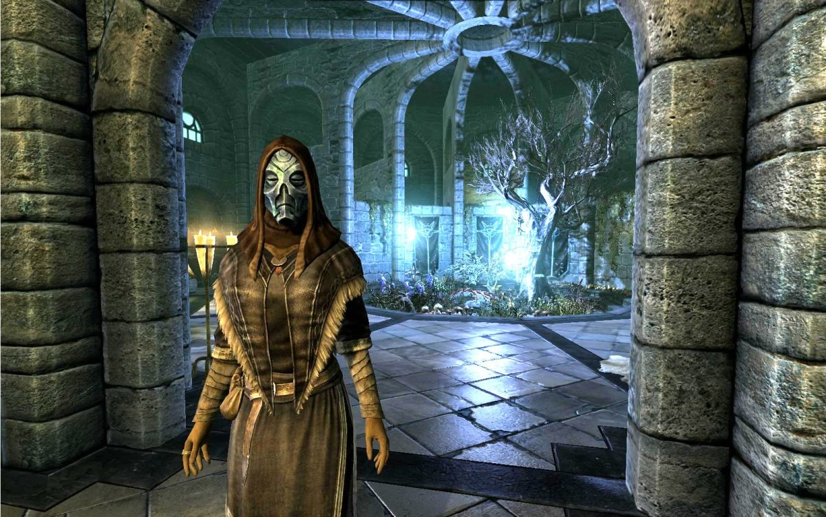 Eicotha has become the Archmage of the College of Winterhold