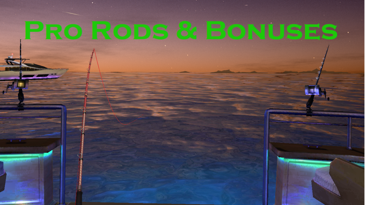 "Learn more about pro rods in ""Fishing Clash,"" including how to get them and what bonuses they offer."