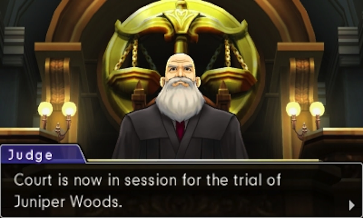 The Stern (albeit daft) Judge that presides over court cases in the Ace Attorney Games.
