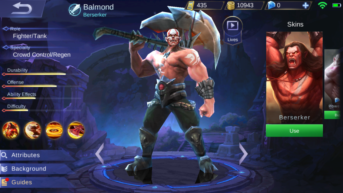 Balmond is the Berserker