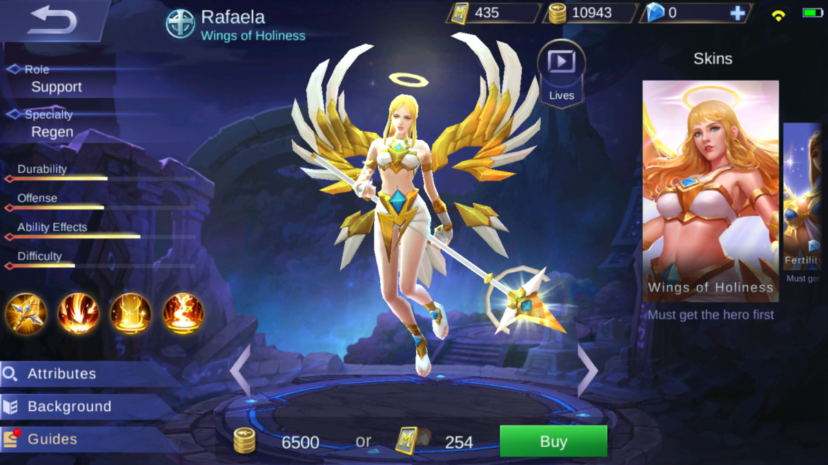 Rafaela is the Wings of Holiness