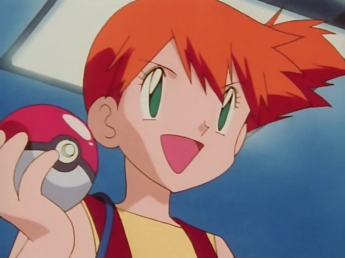Misty in the anime.