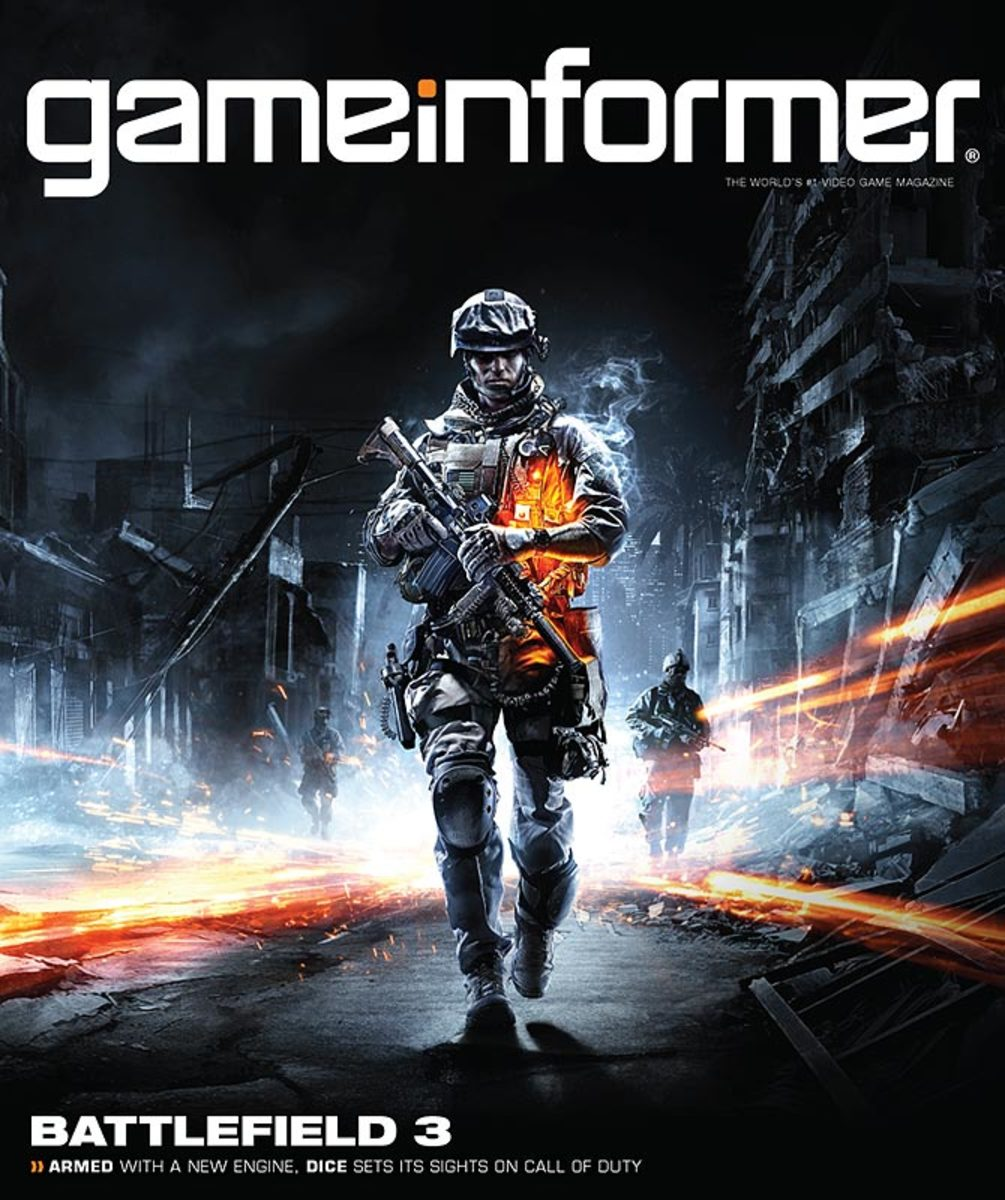 Game Informer's Battlefield 3 cover