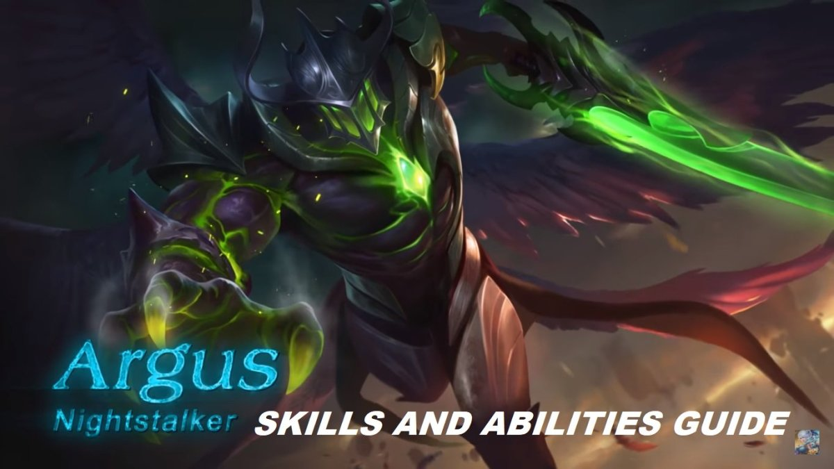Mobile Legends Argus Skills And Abilities Guide
