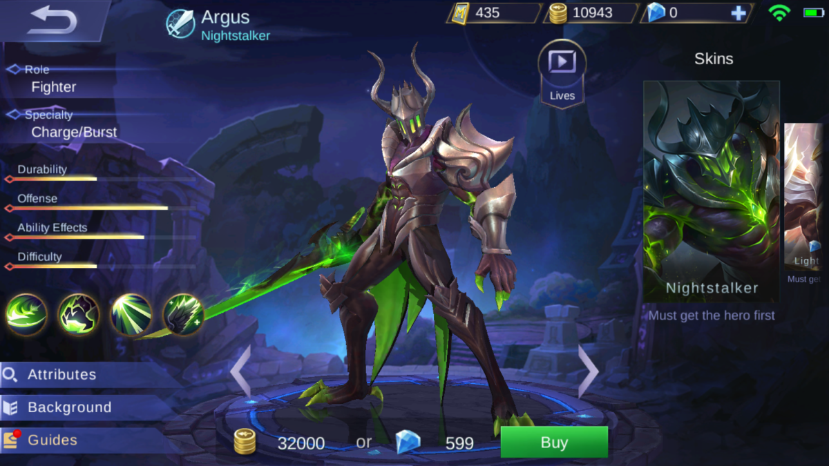 Argus is the Nightstalker