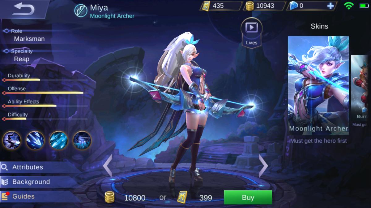 Miya is the Moonlight Archer