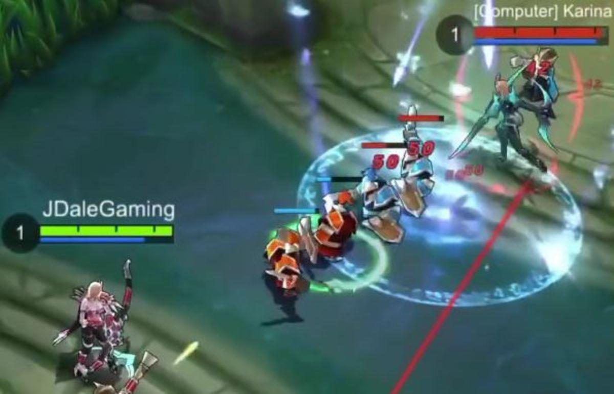 Miya Using Rain of Arrows on her Enemies