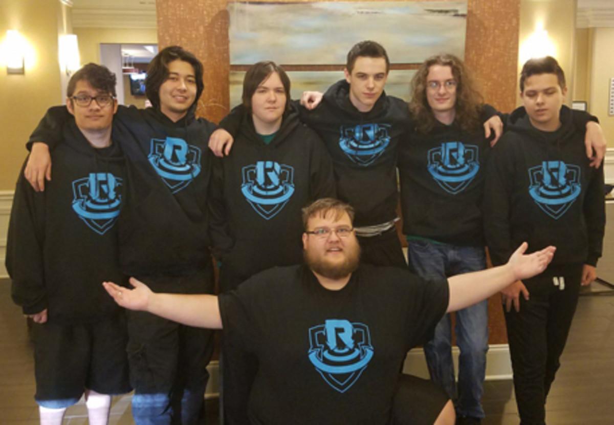 A team wearing matching gear.