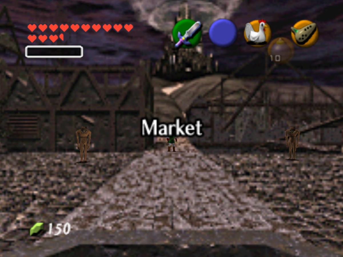 The Market of Adult Link's World