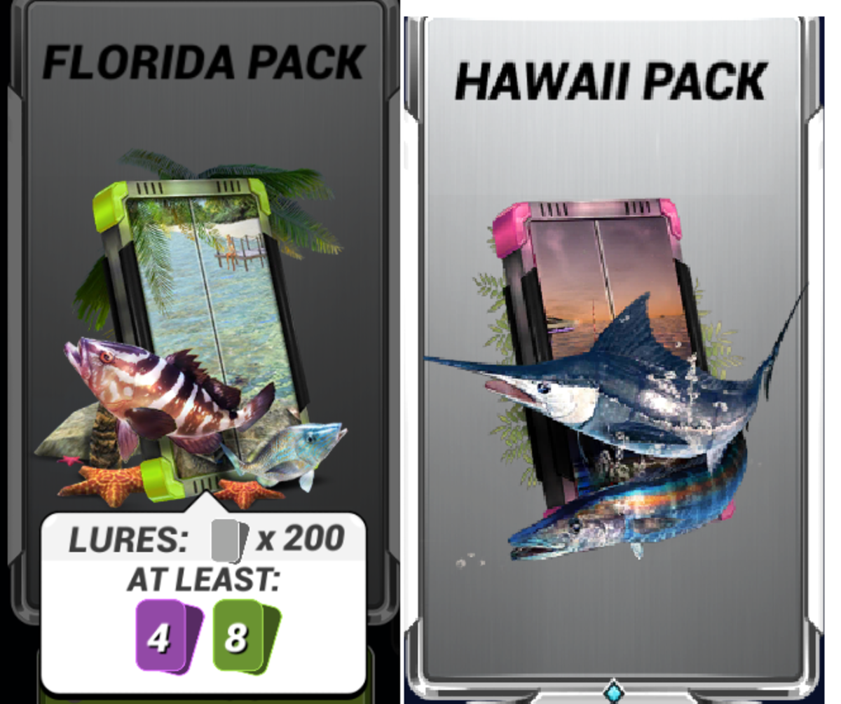 Example of FIshery Packs